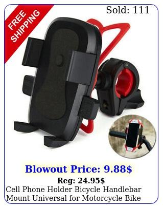 cell phone holder bicycle handlebar mount universal motorcycle bike iphon