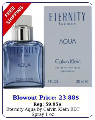 eternity aqua by calvin klein edt spray o