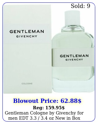gentleman cologne by givenchy men edt  oz in bo