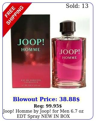 joop homme by joop men oz edt spray in authenti