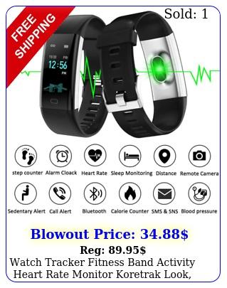 watch tracker fitness band activity heart rate monitor koretrak look waterproo