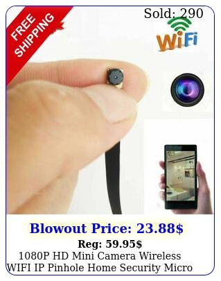 p hd mini camera wireless wifi ip pinhole home security micro dvr diy modul