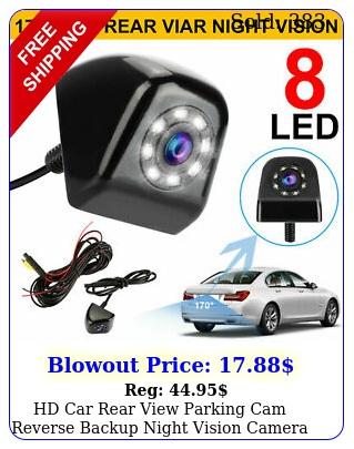 hd car rear view parking cam reverse backup night vision camera waterproo