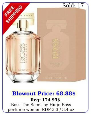 boss the scent by hugo boss perfume women edp  oz i
