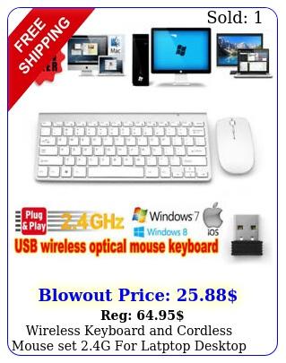 wireless keyboard cordless mouse set g latptop desktop apple mac u