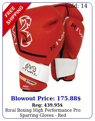 rival boxing high performance pro sparring gloves re