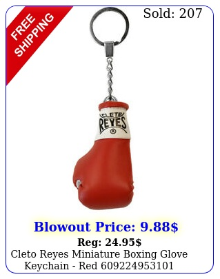 cleto reyes miniature boxing glove keychain re