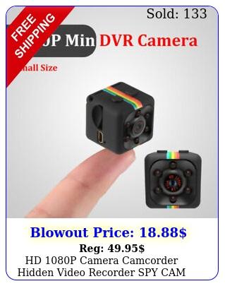 hd p camera camcorder hidden video recorder spy cam dvr sq tiny button d