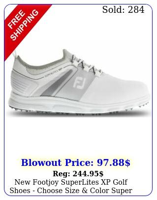 footjoy superlites xp golf shoes choose size color super lite x