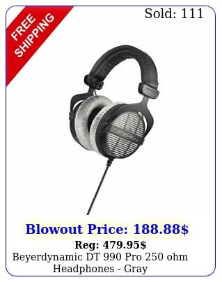 beyerdynamic dt pro ohm headphones gra