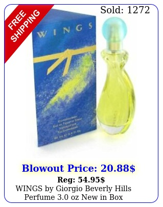 wings by giorgio beverly hills perfume oz in bo
