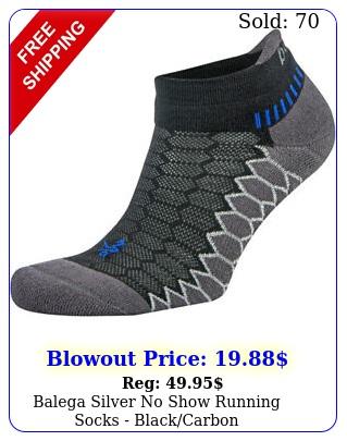 balega silver no show running socks blackcarbo