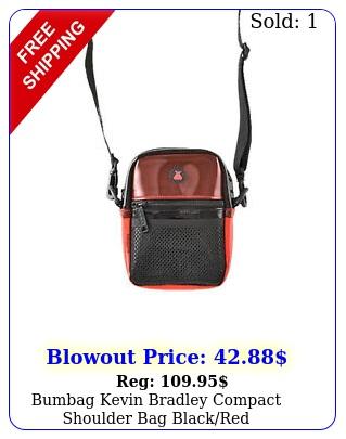 bumbag kevin bradley compact shoulder bag blackre