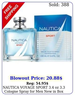 nautica voyage sport oz cologne spray men i