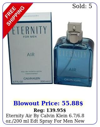 eternity air by calvin klein oz ml edt spray men i