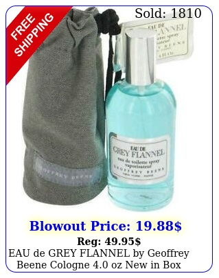 eau de grey flannel by geoffrey beene cologne oz i