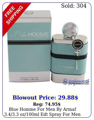 blue homme men by armaf ozml edt spray men i