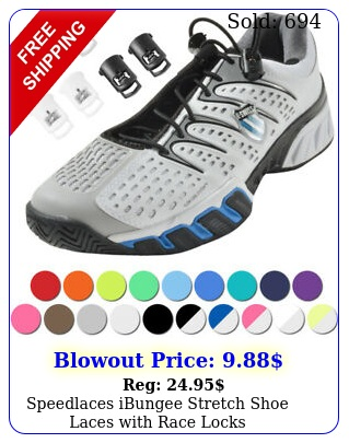 speedlaces ibungee stretch shoe laces with race lock