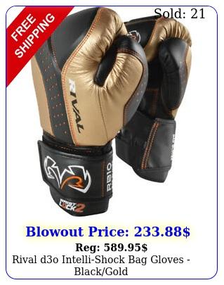 rival do intellishock bag gloves blackgol