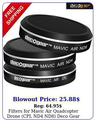 filters mavic air quadcopter drone cpl nd nd deco gea