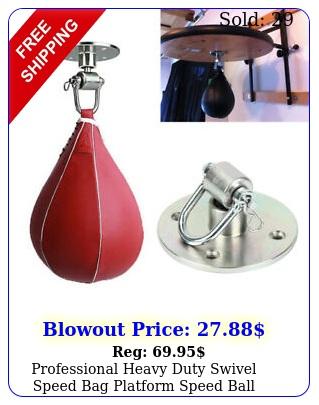 professional heavy duty swivel speed bag platform speed ball hanger mm
