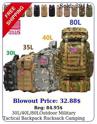 llloutdoor military tactical backpack rucksack camping bag travel hikin