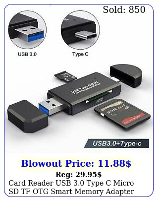 card reader usb type c micro sd tf otg smart memory adapter laptop compute
