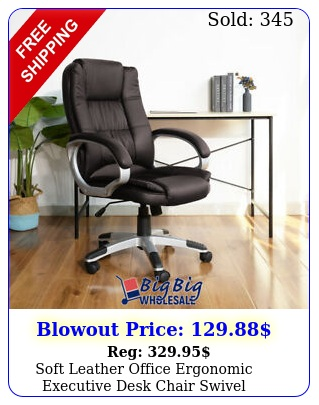 soft leather office ergonomic executive desk chair swivel computer chair gamin