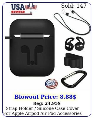 strap holder silicone case cover apple airpod air pod accessories airpod