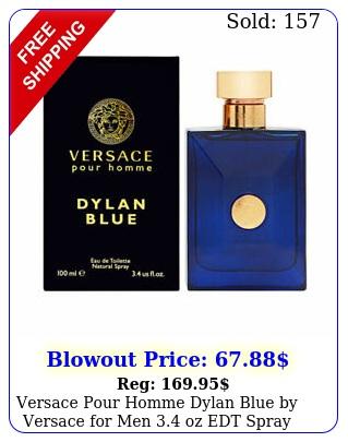 versace pour homme dylan blue by versace men oz edt spray bran