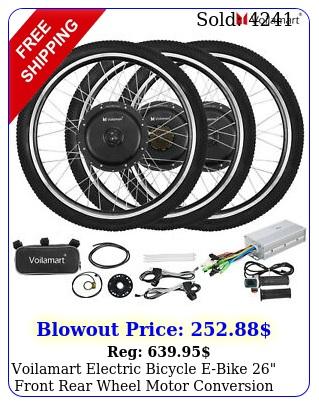 voilamart electric bicycle ebike front rear wheel motor conversion ki