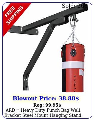 ard heavy duty punch bag wall bracket steel mount hanging stand boxing hange