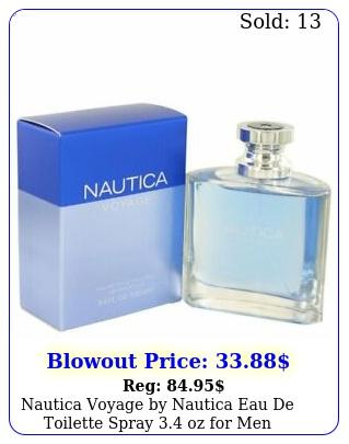 nautica voyage by nautica eau de toilette spray oz me