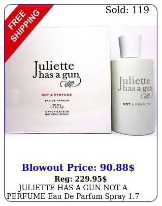 juliette has a gun not a perfume eau de parfum spray oz  ml brand ne