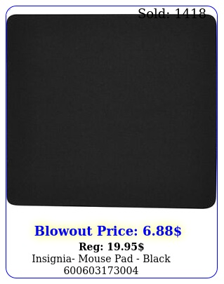 insignia mouse pad blac