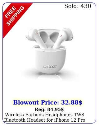 wireless earbuds headphones tws bluetooth headset iphone pro xs xr