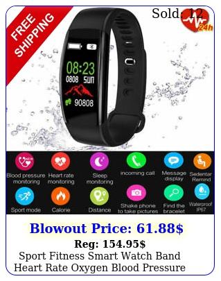 sport fitness smart watch band heart rate oxygen blood pressure tracker activit