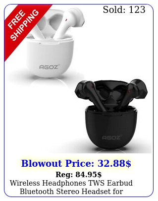 wireless headphones tws earbud bluetooth stereo headset samsung galaxy phon
