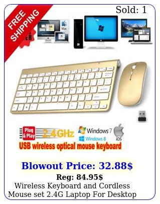 wireless keyboard cordless mouse set g laptop desktop apple ma