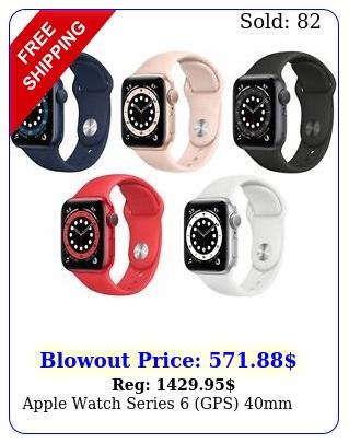 apple watch series gps m