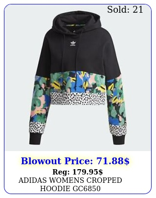 adidas womens cropped hoodie g