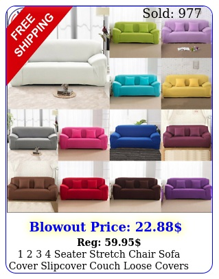 seater stretch chair sofa cover slipcover couch loose covers elasti