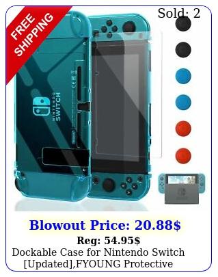 dockable case nintendo switch updatedfyoung protective accessories co