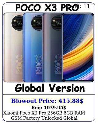 xiaomi poco x pro gb gb ram gsm factory unlocked global version ne