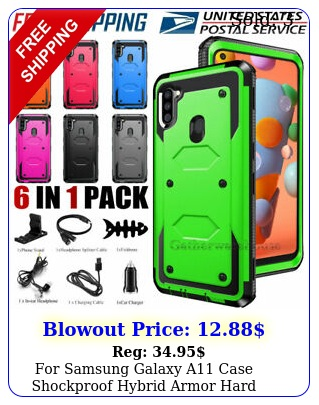 samsung galaxy a case shockproof hybrid armor hard cover with accessorie