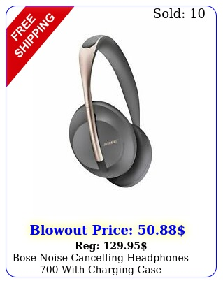 bose noise cancelling headphones with charging cas