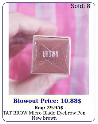 tat brow micro blade eyebrow pen brow