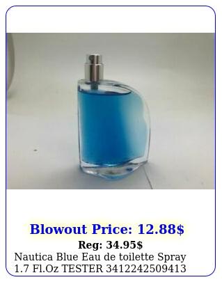 nautica blue eau de toilette spray floz teste