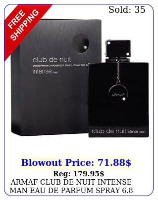 armaf club de nuit intense man eau de parfum spray oz  ml brand ne