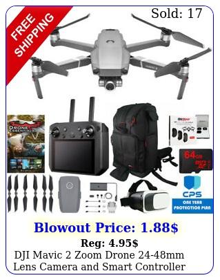 dji mavic zoom drone mm lens camera smart controller essential bundl